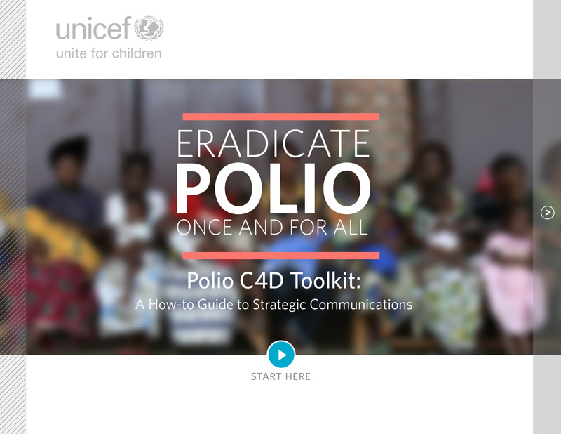Unicef Polio Vaccine Toolkit