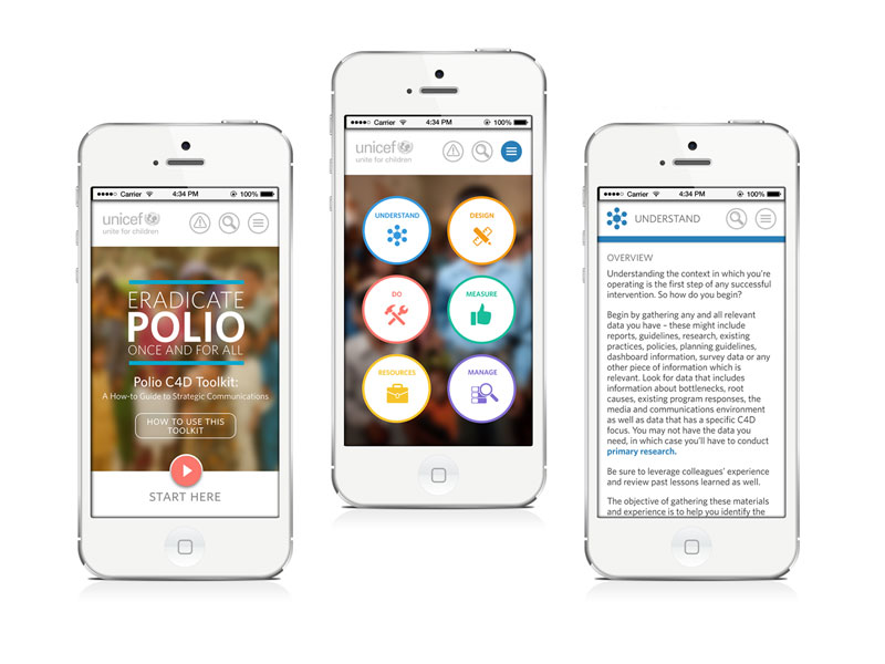 Unicef Mobile Polio Toolkit