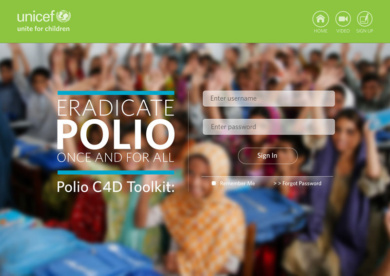 Unicef Desktop Polio Toolkit